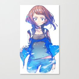 Uraraka Canvas Print