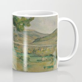 Mont Sainte-Victoire and the Viaduct of the Arc River Valley Coffee Mug