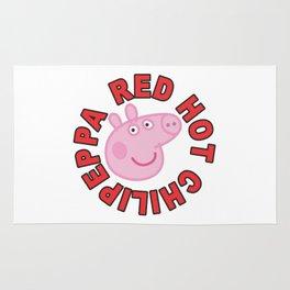Red hot chilipeppa Rug