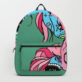 Pastel Sugar Skull Backpack