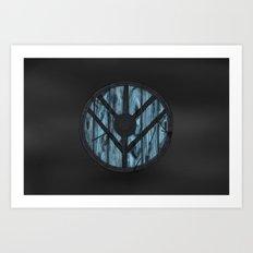 Lagertha's Shield Art Print
