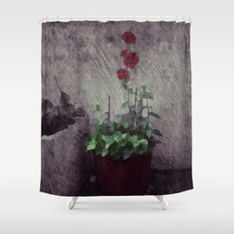 Jeonong-dong Shower Curtain