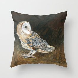 The Night Hunter by Teresa Thompson Throw Pillow