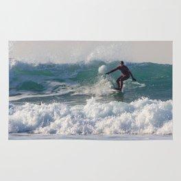 Surfers at Porthtowan Rug