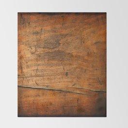 Wood Texture 340 Throw Blanket