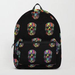 skulls pattern Backpack