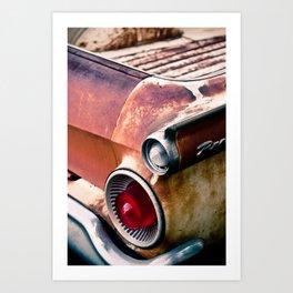 ranchero rust 2 Art Print