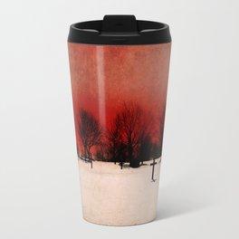 Cemetery's Dawn Travel Mug