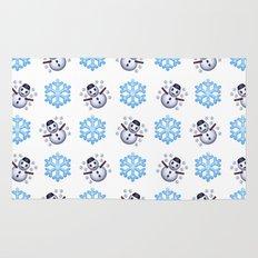 C1.3D Snowmoji Rug