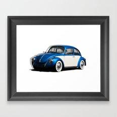 Volkswagen Beetle Framed Art Print