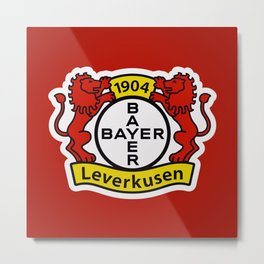 Bayer Leverkusen Metal Print