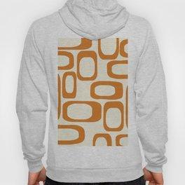 Mid Century Modern Shapes 1970s Orange #society6 #buyart  Hoody