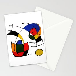 In the Style of Miro Stationery Cards