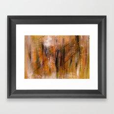 Acryl-Abstrakt 45  Framed Art Print