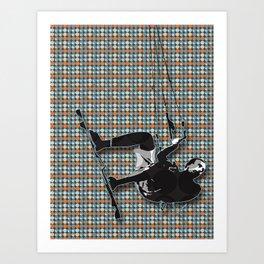 Kite Surf Art Print