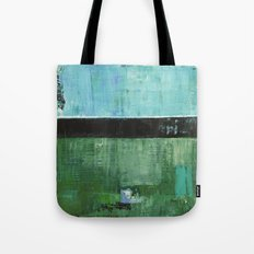 Sky Blue Sky Contemporary Abstract Landscape McNulty Tote Bag