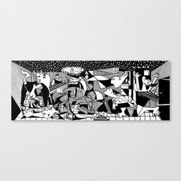 Guernica. Picasso Canvas Print