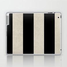 vintage black stripes Laptop & iPad Skin