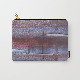 Maroon gray Carry-All Pouch