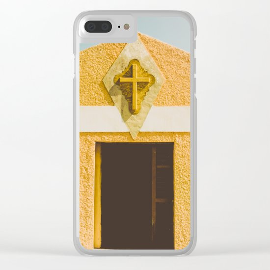Desert Sin Clear iPhone Case