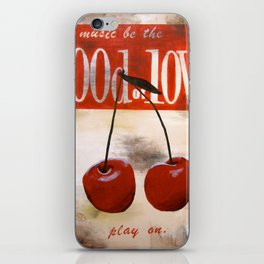 food of love iPhone Skin