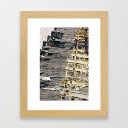 Old Sydney Wharf Framed Art Print