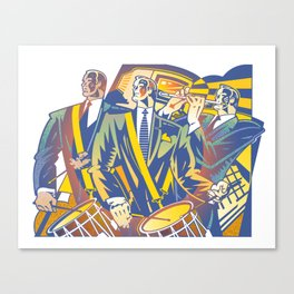 Business Revolution Canvas Print
