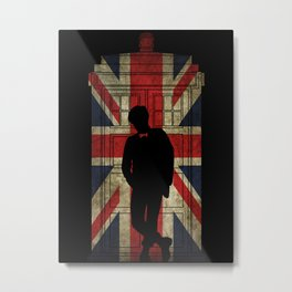 11th Doctor UK flag Metal Print