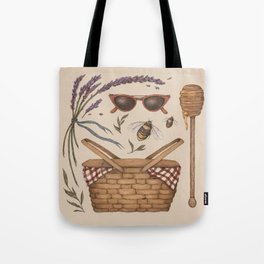 Summer Picnic Collection Tote Bag
