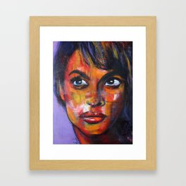 odacieuse Framed Art Print