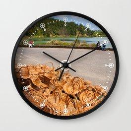 Wicker baskets for sale Wall Clock