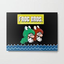 Frog Bros Metal Print
