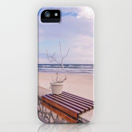Winter On The Seaside iPhone Case