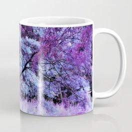 Whisper Forest Purple Periwinkle Pink Coffee Mug