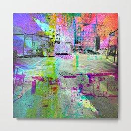 Like seeing ways, surmising intention from arrows. [RGB] Metal Print