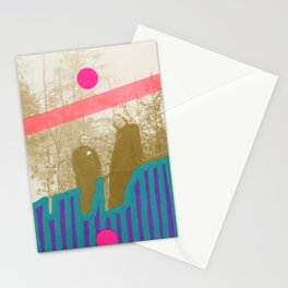 Neon Woods Stationery Cards