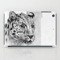 leopard iPad Cases featuring Leopard by Anna Tromop Illustration
