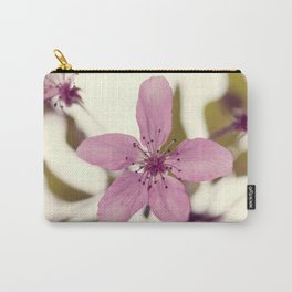 Pink blooming tree Carry-All Pouch