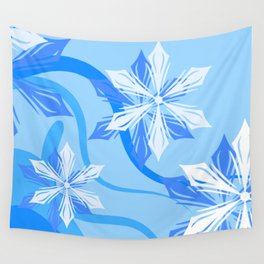 The Flower Abstract Holiday Wall Tapestry