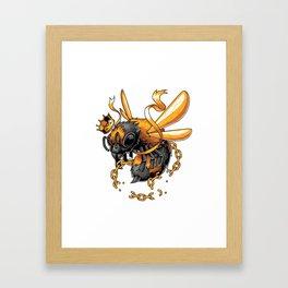 King Bee Framed Art Print