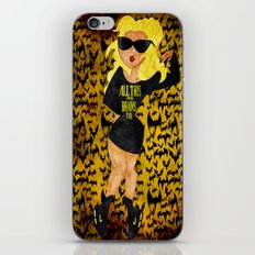 All This and Brains Too iPhone & iPod Skin