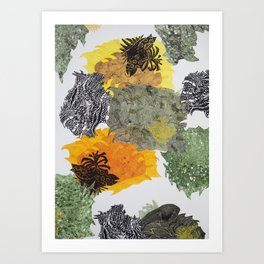 Carbonation Collection: spring Art Print