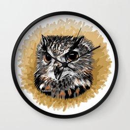 Owl - Búho Wall Clock