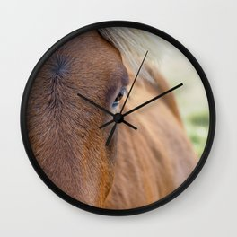 The Brown One. Wall Clock