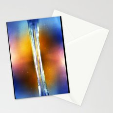 color in motion #2 (35mm multiple exposures) Stationery Cards