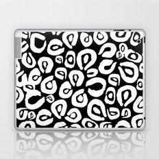 LEOPARD! (black) Laptop & iPad Skin
