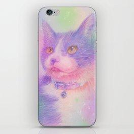 miwa cat1 ~purple~ iPhone Skin