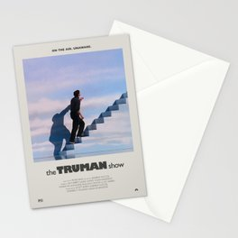 The Truman Show (1998) Minimalist Poster Stationery Cards