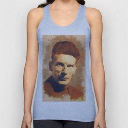 Samuel Beckett, Literary Legend Unisex Tank Top
