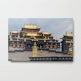 Songzanlin Tibetan Monastery Metal Print